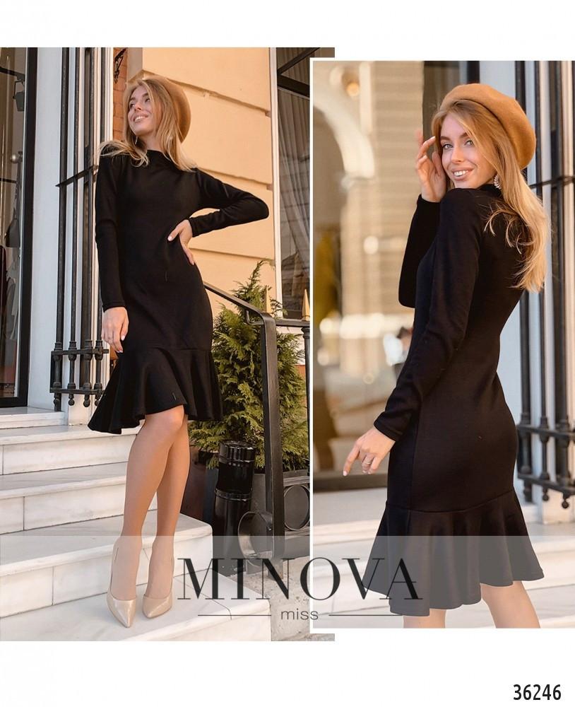 Платье №1404-черный