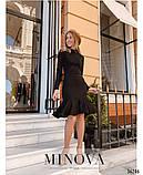Платье №1404-черный, фото 2