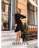 Платье №1404-черный, фото 3