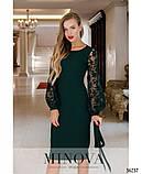 Платье №17690-темно-зеленый, фото 2