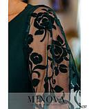 Платье №17690-темно-зеленый, фото 4