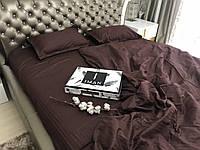 Полуторный 1,5 комплект постельного белья для принцессы Страйп-Сатин сказка (100% Хлопок) Постільна білизна