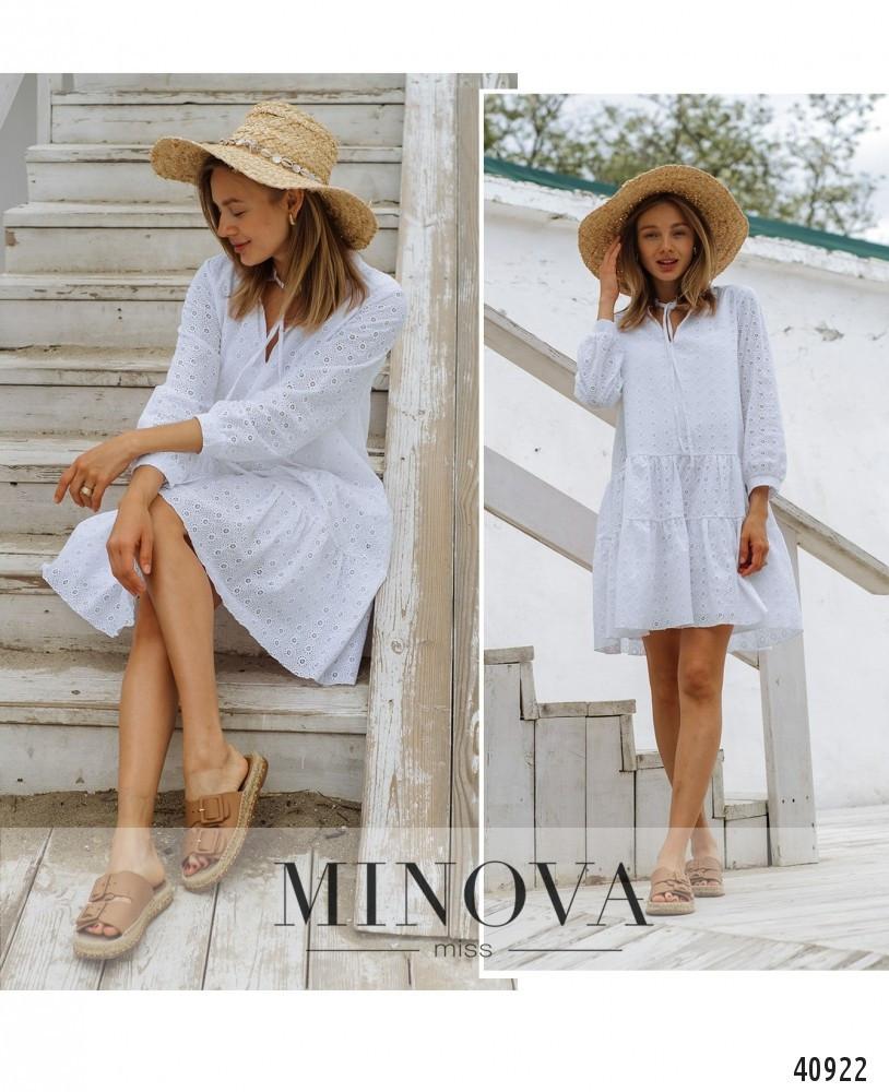 Платье №043-белый