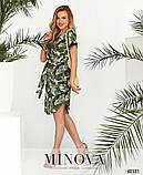 Платье №2101-Зеленый, фото 3