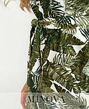 Платье №2101-Зеленый, фото 4