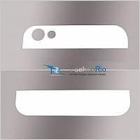 Заднее стекло (верхнее+нижнее)Jiayu G5/G5s White (оригинал)