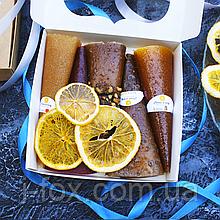 Набор фруктово-ягодной пастилы 5 вкусов + фрипсы | Натуральные сладости