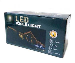 Гирлянда новогодняя сосульки Kronos LED 120 W-2 Белая (gr_008084)