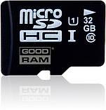 Карта памяти GoodRAM Micro SDHC 32GB class 10 + SD adapt., фото 2