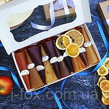 Набор фруктово-ягодной пастилы 10 вкусов + 11 арбузные конфетки + фрипсы | Натуральные сладости