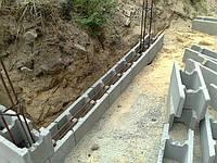 Фундаментный блок(несъемная опалубка)