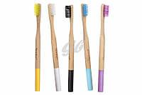 Набор бамбуковых зубных щеток 5шт