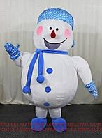 """Надувной костюм """"Снеговик Снежинка"""""""