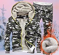 Мужской спортивный костюм на меху МД 0153-И, фото 1