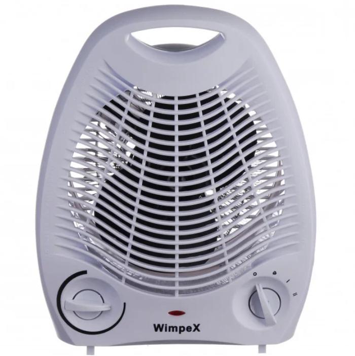 Компактний Тепловентилятор електричний обігрівач Wimpex WX-424 2000W. Краща ЦІНА