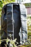 Рюкзак Greenlan GL-803 вологозахищений 20 л чорний, фото 4