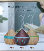 Увлажнитель воздуха c подсветкой, Освежитель воздуха mini usb humidifier 7 led color change, фото 2
