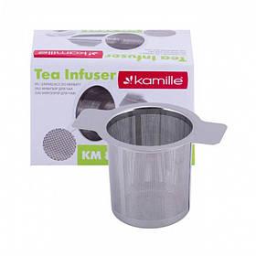 Ситечко-фильтр для чая 10 х 6,5 см Kamille KM-8841