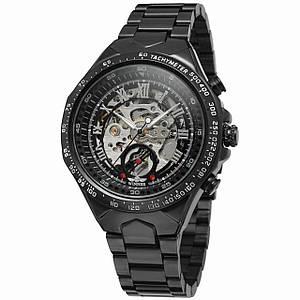 Мужские часы Winner Bussines Black (2588-7340)