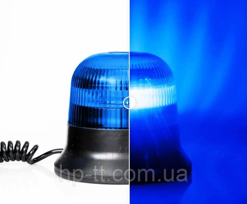 Фонарь предупредительно-сигнальный синий Fristom FT-150 DF N LED MAG M78