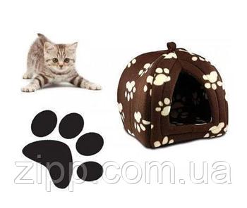Портативна підвісна м'яка будка для собак і котів Pet Hut, Будиночок для домашніх Пет Хат