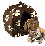 Портативная подвесная мягкая будка для собак и котов Pet Hut, Домик для домашних Пет Хат, фото 3