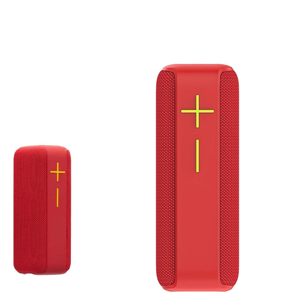 Bluetooth портативна колонка з FM радіо Hopestar P15 PRO Червона, бездротова акустична система з радіо
