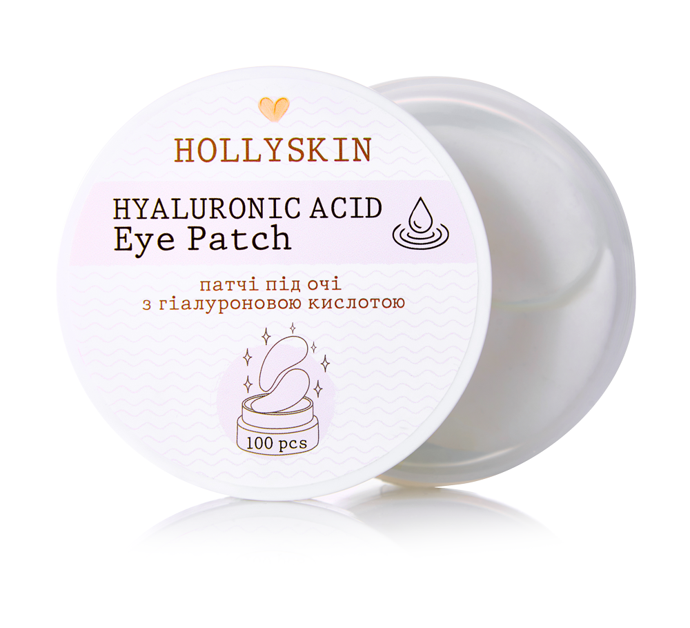 Патчи под глаза Hollyskin Hyaluronic Acid Eye Patch 100 шт