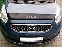 Дефлектор капота (мухобойка) Kia VENGA 2011-