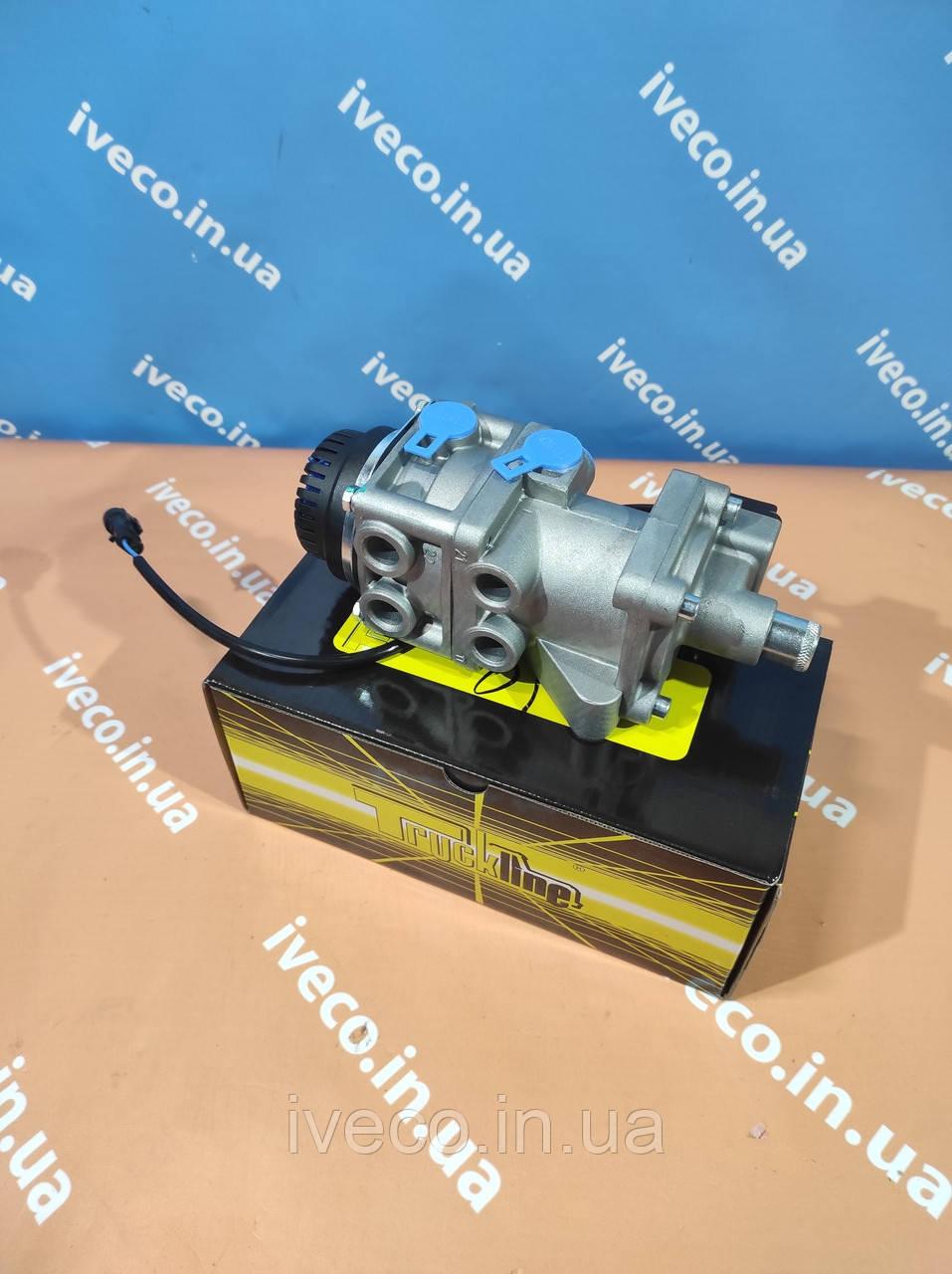 Кран тормозной ножной IVECO Eurocargo Ивеко Еврокарго 500382823 MM01028 DX75BAY главный тормозной цилиндр