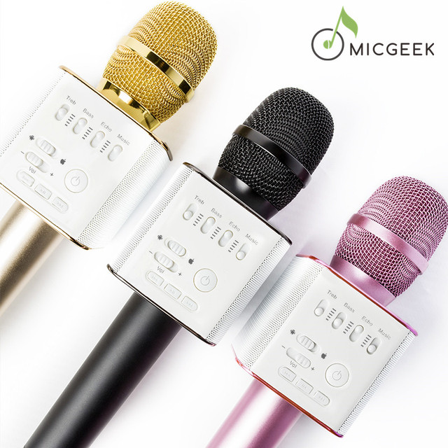 микрофон для караоке micgeek q9
