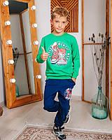 Спортивный костюм для мальчика Hees кеды зеленый