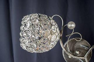 Люстра на 3 лампочки 7351c-3 (CR+BS), фото 3