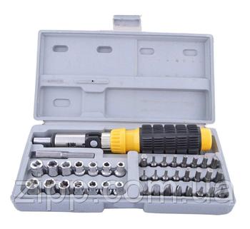 Набір інструментів у валізі AIWA 41-Piece Bit and Socket Set