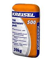 Гладкая машинная цементно-известковая штукатурка KREISEL 500