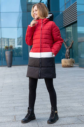 Женское пальто-куртка Томи  в размерах 42-52, фото 2