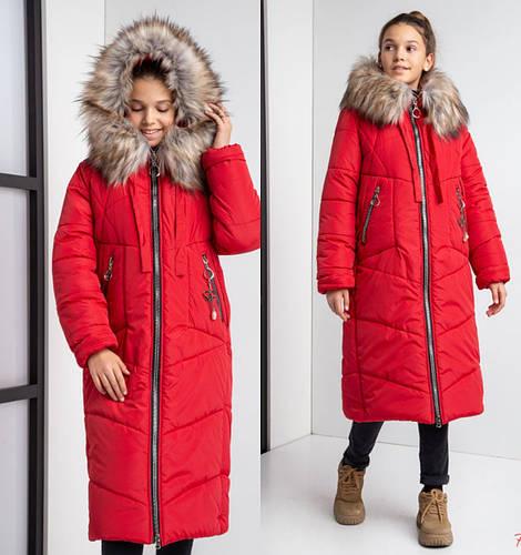 Детское зимнее пальто на девочку №20