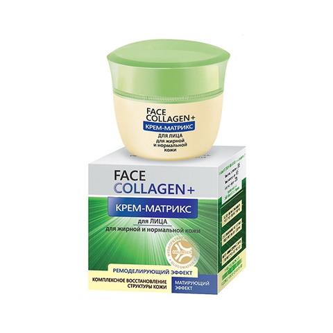 Крем-матрикс для лица для жирной и нормальной кожи