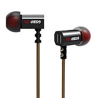 Вакуумные наушники KZ ED9 с микрофоном (Черный)