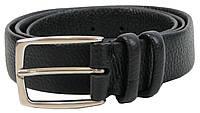 Женский кожаный ремень Farnese, Италия, SFA028 черный, фото 1