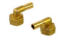 """Штуцер угловой для подключения газовых плит и котлов (правая резьба 1/2"""", Ø10,5 мм.)"""