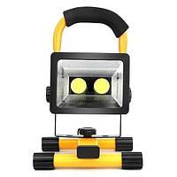 Аккумуляторный переносной ручной прожектор-фонарь Bailong W902-COB 2в1