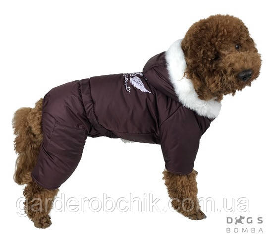 Комбинезон зимний на меху  АМ-6. Одежда для собак