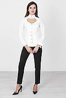 Белая рубашка хлопковая