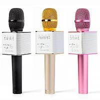 ОРИГИНАЛ! Микрофон караоке с колонками MicGeek Q9 Беспроводной, Блютуз. Лучший детский подарок, фото 1