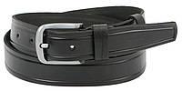 Мужской кожаный ремень под джинсы Skipper 1262-38 черный 3,8 см, фото 1