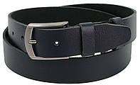 Ремень мужской кожаный под джинсы Skipper 1310-38 синий, фото 1