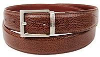 Женский кожаный ремень Ermenegildo Zegna, Италия, SFA796 коричневый, фото 1