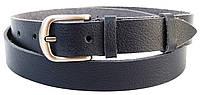 Женский кожаный ремень Skipper темно синий 2,5 см 1381-25, фото 1