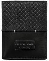Мужское кожаное портмоне ALWAYS WILD N4PVT черное, фото 1